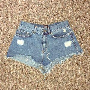 BDG cut off denim shorts